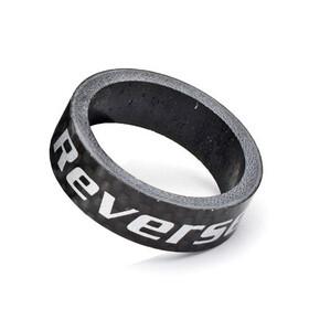 "Reverse Spacer Carbon 10 mm 1 1/8"" black"